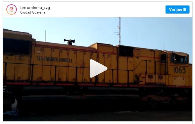 La unidad 1063 es la sexta locomotora repotenciada