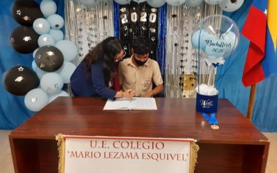 Colegios de Ferrominera aportan 122 nuevos Bachilleres a la República