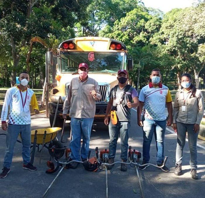 Seguimos avanzando en la recuperación de los colegios de Ciudad Guayana