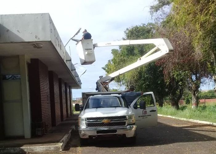 Ferrominera continúa saneamiento de infraestructuras y espacios públicos