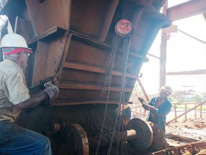 Gerencia de Procesamiento de Mineral de Hierro ejecuta parada de mantenimiento planificada de 14 horas