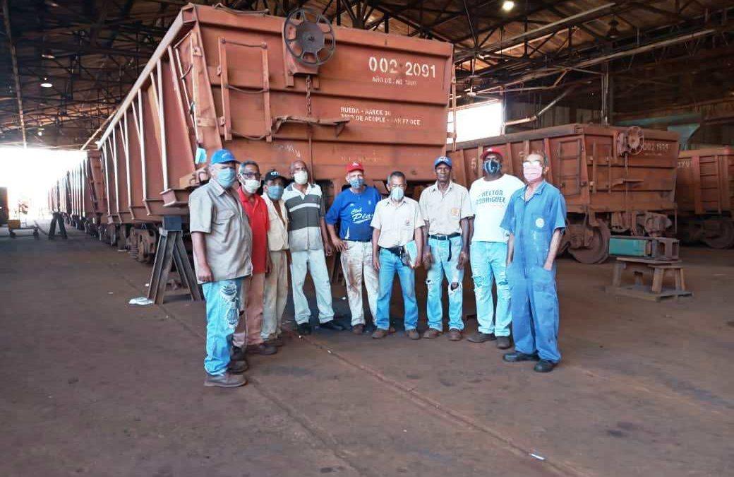 Jubilados siguen aportando al reimpulso de la estatal minera