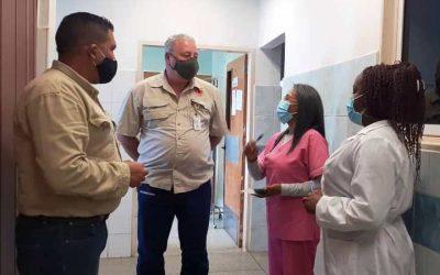 """Ferrominera trabaja en la rehabilitación del CDI """"El Rosario"""""""