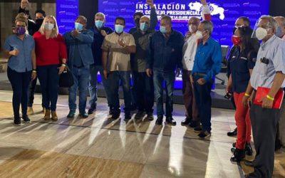 Instalan Congreso Presidencial de Gobierno Popular de la Clase Obrera