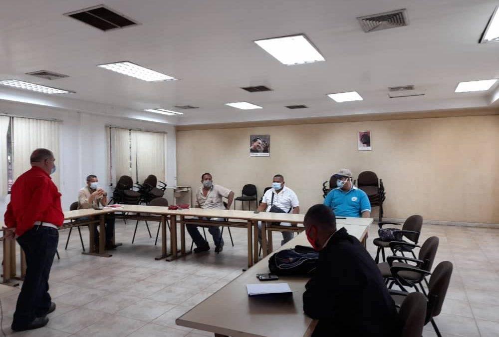 FMO reanuda entrenamientos presenciales con medidas de bioseguridad