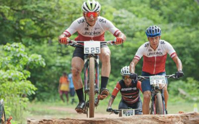 Edgar Bacadare obtuvo campeonato en ciclismo de montaña