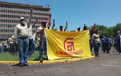Ferrominera fortalece estrategias de seguridad con la Milicia Obrera