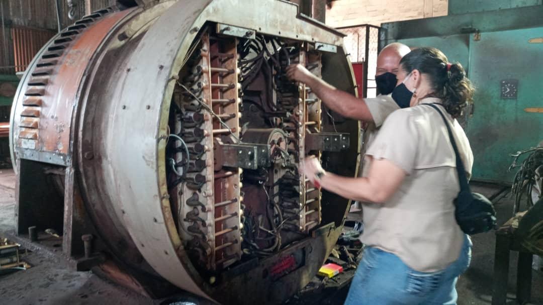 Generador AR10 de locomotoras