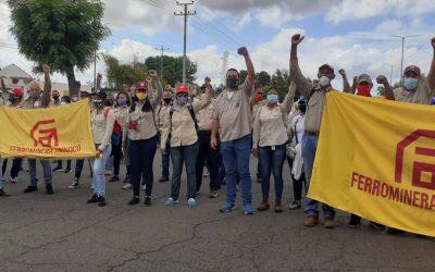 Clase Trabajadora de Guayana marcha contra el bloqueo