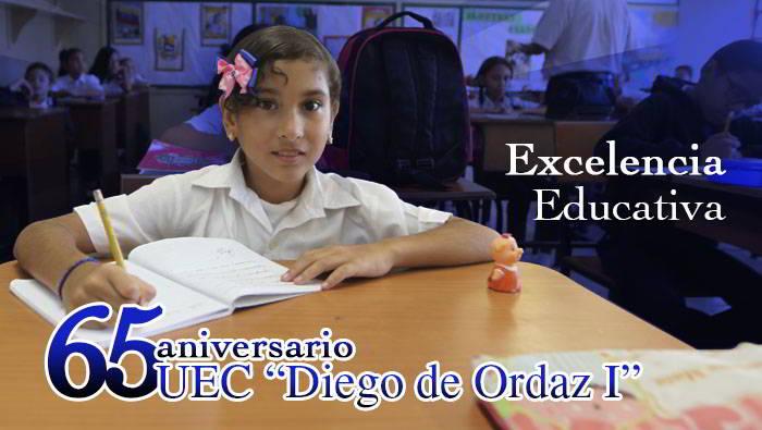 65 Aniversario Unidad Educativa Colegio Diego de Ordaz I