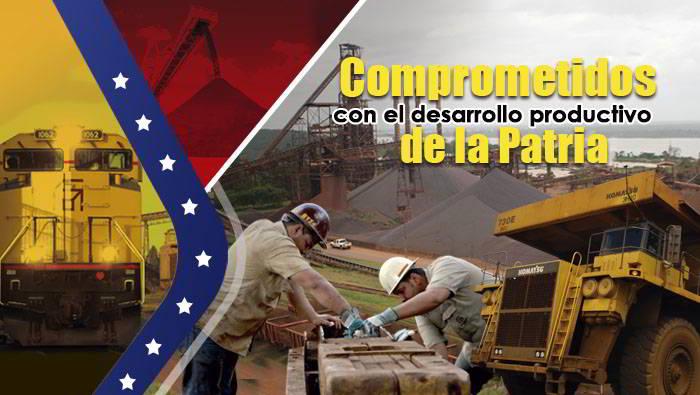 Ferromineros comprometidos con el desarrollo de la patria