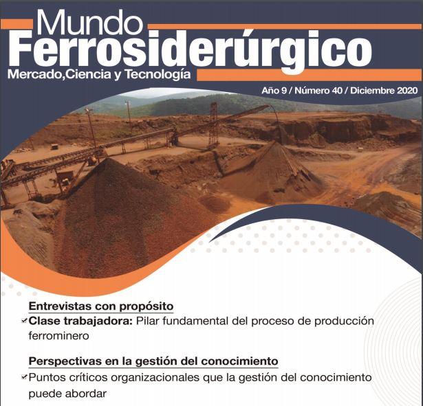 Revista Mundo Ferrosiderurgico 40